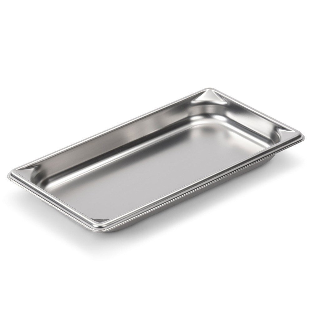 Vollrath 30302 Third-Size Steam Pan, Stainless