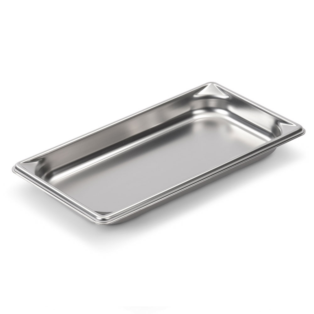 Vollrath 30312 Super Pan V Third-Size Steam Pan, Stainless