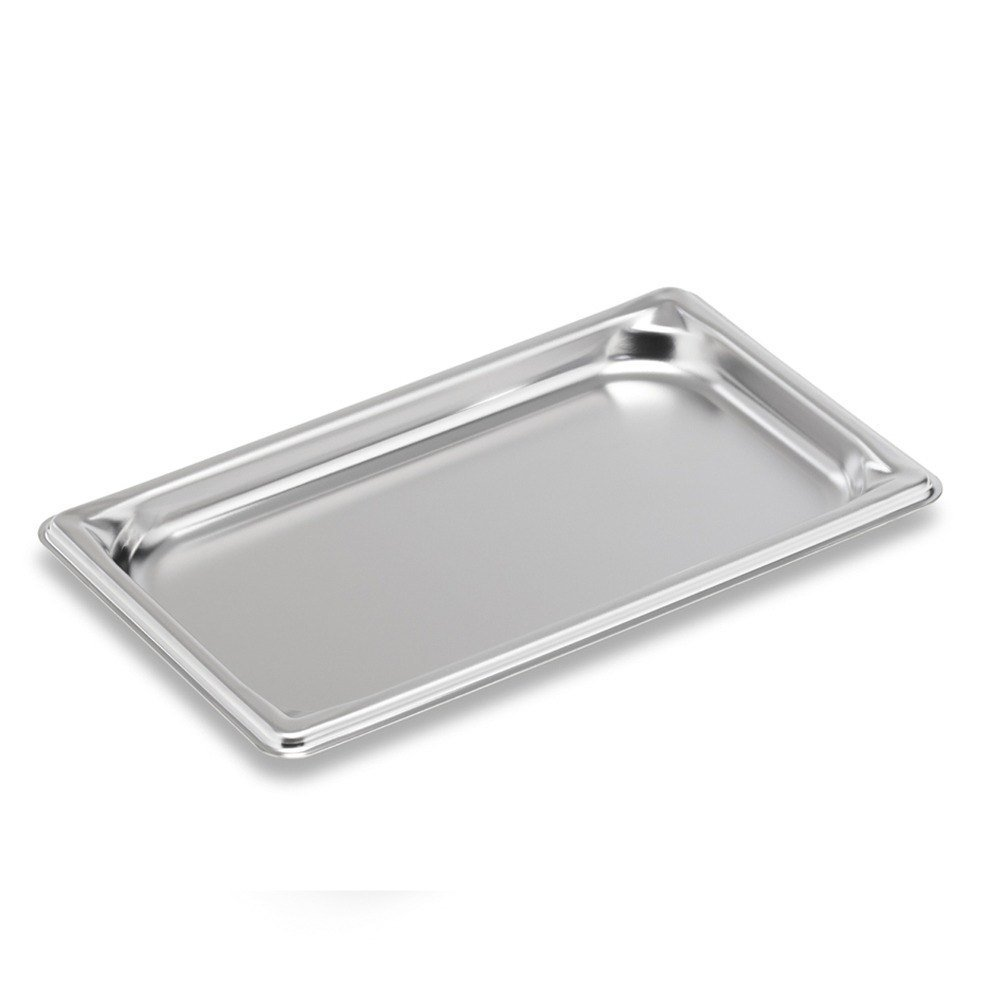 Vollrath 30402 Fourth-Size Steam Pan, Stainless
