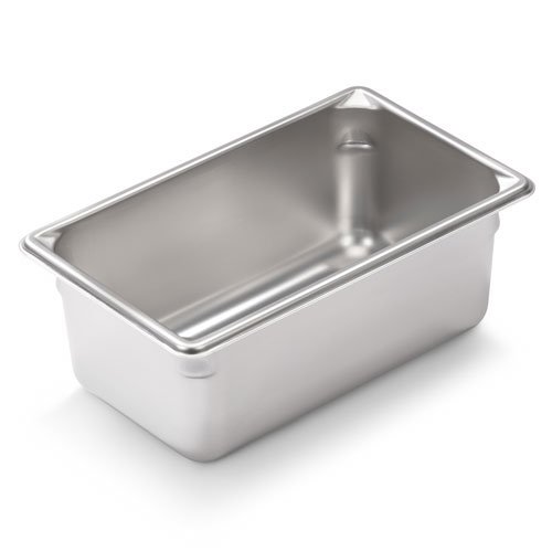 Vollrath 30942 Super Pan V Ninth-Size Steam Pan, Stainless