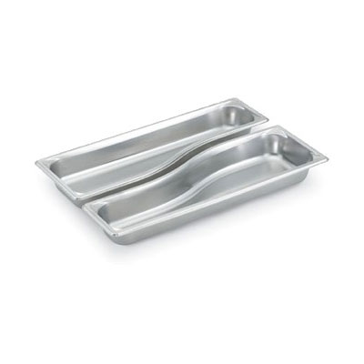 Vollrath 3100040 Half-Size Long Steam Pan - Wild, Stainless