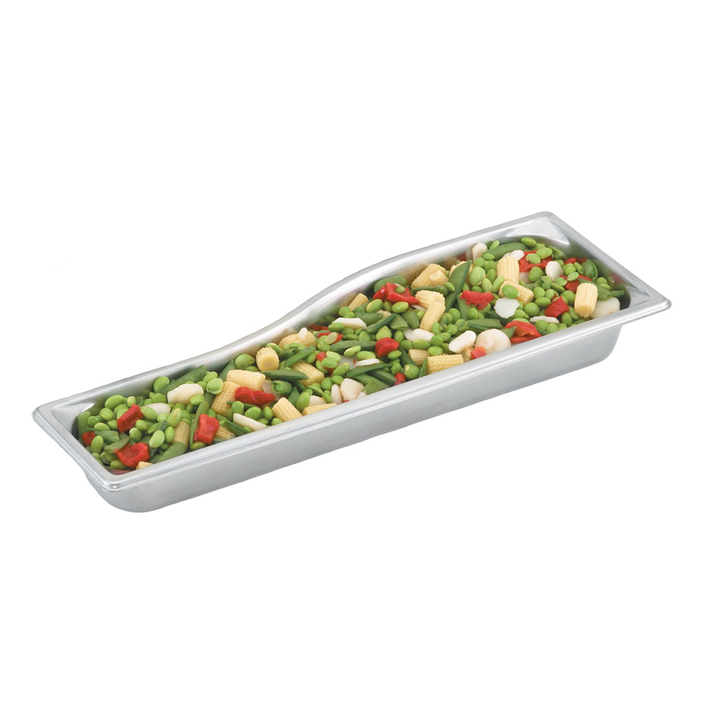 Vollrath 3100220 Super Pan Shapes Full-Size Short Steam Pan - Wild, Stainless