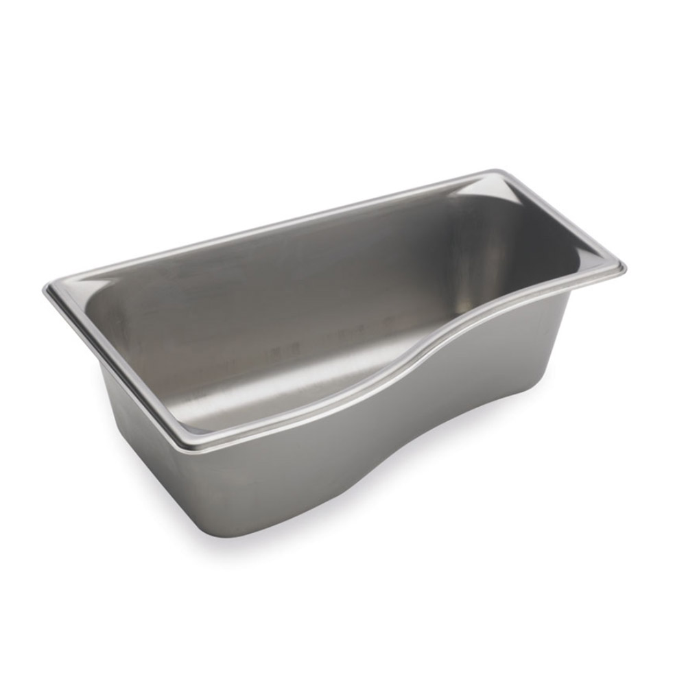 Vollrath 3100321 Super Pan Shapes Third-Size Steam Pan - Wild, Stainless
