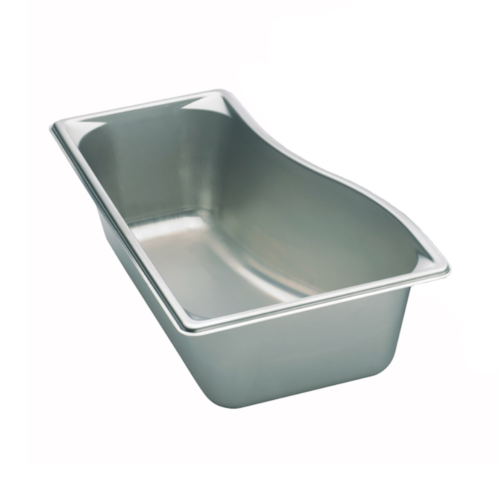 "Vollrath 3100341 Super Pan Shapes Steam Table Wild Inner Pan - 1/3 Size, 4"" Deep, 22-ga Stainless"