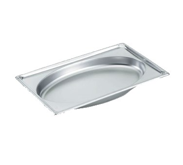 Vollrath 3101015 Full-Size Steam Pan, Stainless