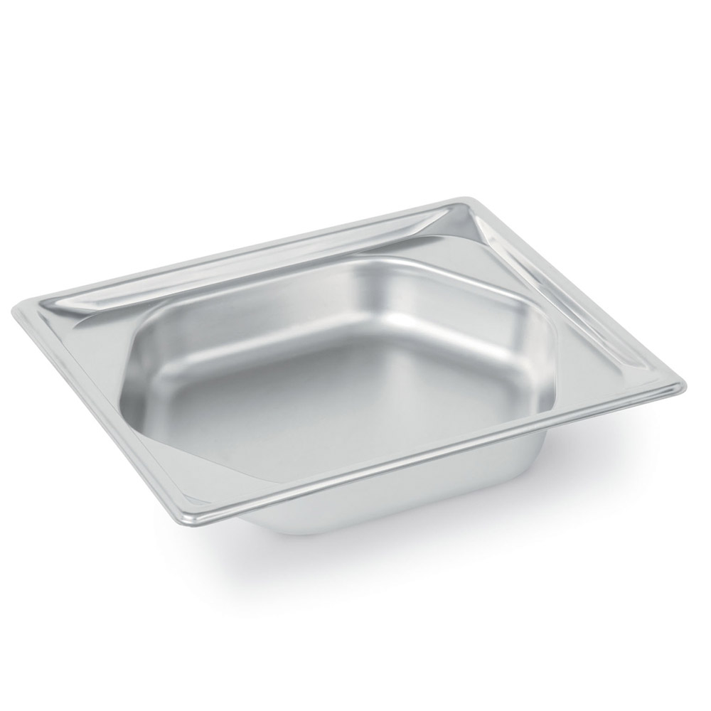 Vollrath 3102240 Super Pan Shapes Half-Size Steam Pan - Hexagon, Stainless