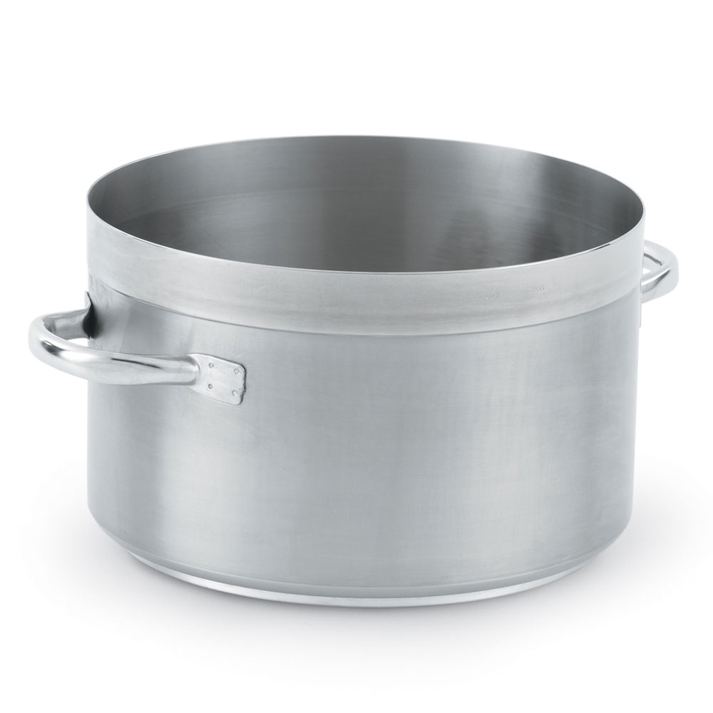 Vollrath 3206 23-qt Saucepan - Induction Compatible, 18/10 Stainless