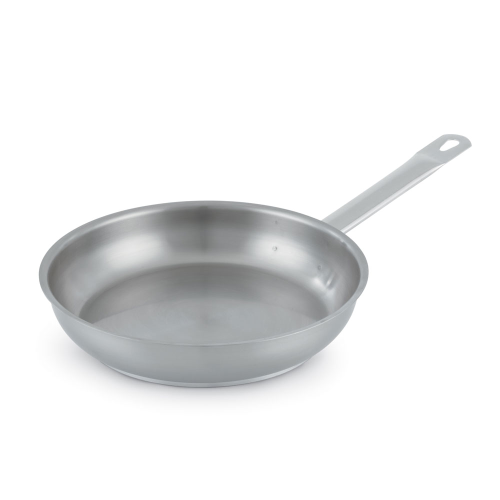"Vollrath 3414 14"" Stainless Steel Frying Pan w/ Hollow Metal Handle"