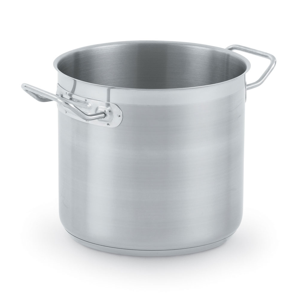 Vollrath 3501 8-qt Stainless Steel Stock Pot - Induction Ready