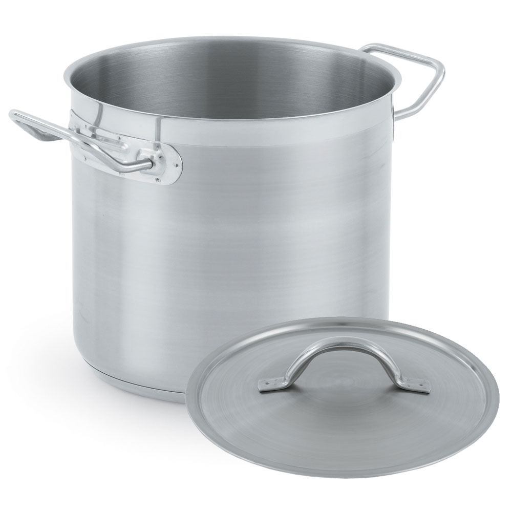 Vollrath 3503-POT 11-qt Stainless Steel Stock Pot - Induction Ready