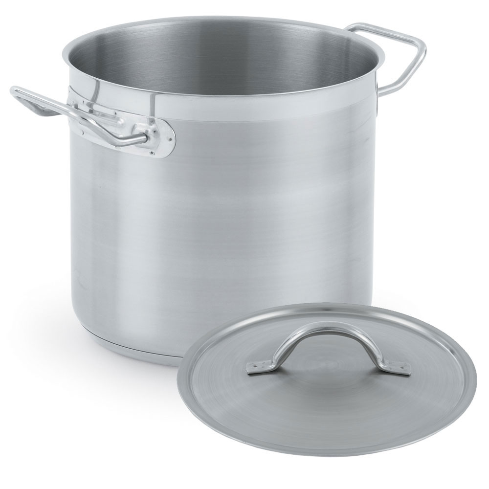 Vollrath 3509-POT 38-qt Stainless Steel Stock Pot - Induction Ready