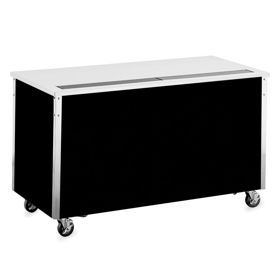 "Vollrath 36126 60"" Beverage Counter - 30x60x28"", Enclosed Base, Stainless Top"