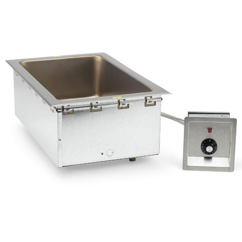 Vollrath 36368 Top Mount Drop-In Single Hot Food Well Unit - 120v