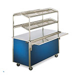 "Vollrath 36392 46"" 2-Shelf Merchandiser - Stainless"