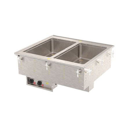 Vollrath 36400 2-Well Modular Drop-In - Infinite, Standard Drain, 625W, 208v