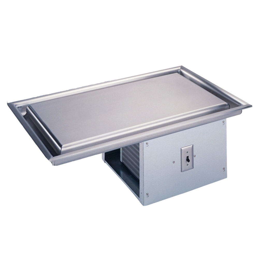 """Vollrath 36424 54.75"""" Recessed Frost Top w/ Built In Compressor, 120v"""