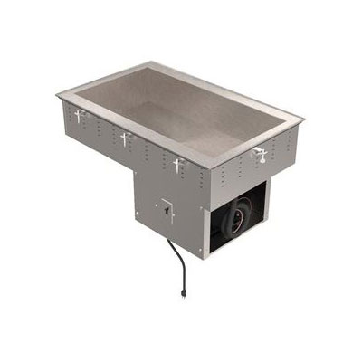 "Vollrath 36444 55"" Drop-In Refrigerator w/ (4) Pan Capacity, Cold Wall Cooled, 120v"