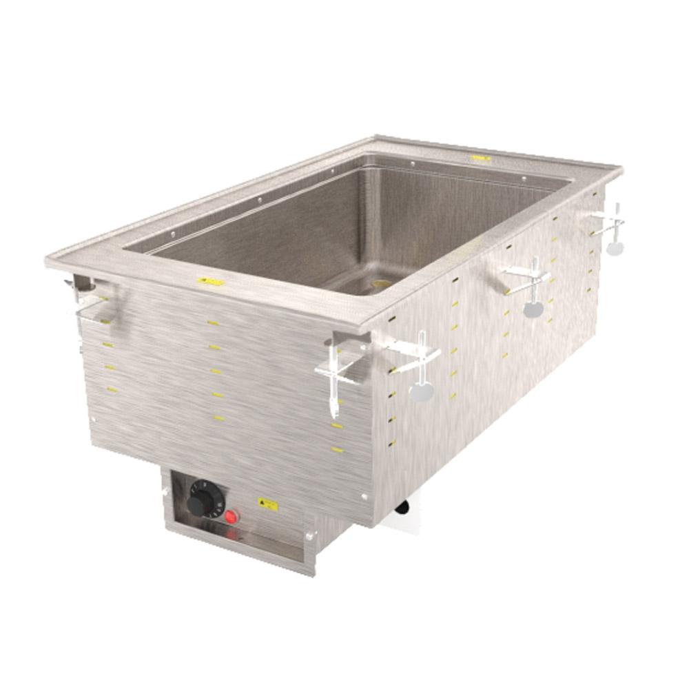 Vollrath 3646681 1-Well Modular Drop-In - Auto-Fill, Thermostat, Manifold Drain, 1000W 120v