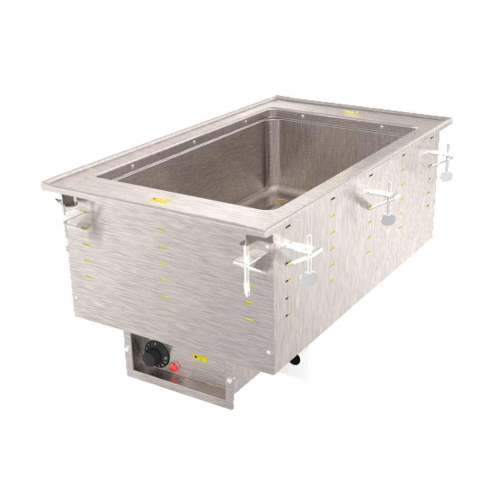 Vollrath 36466 1-Well Modular Drop-In - Infinite Control, Standard Drain, 625W 120v
