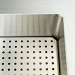 "Vollrath 36914-2 46"" Perforated False Bottom - For Cold Food Pan Station"
