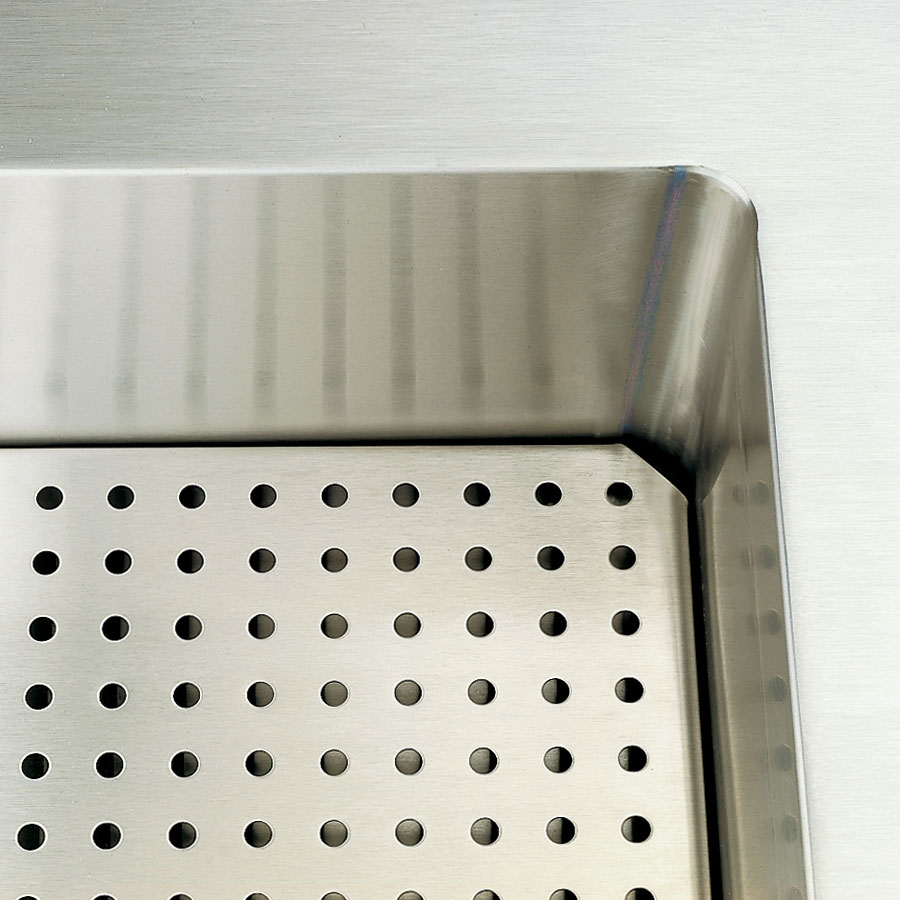 "Vollrath 36915-2 60"" Perforated False Bottom - For Cold Food Pan Station"