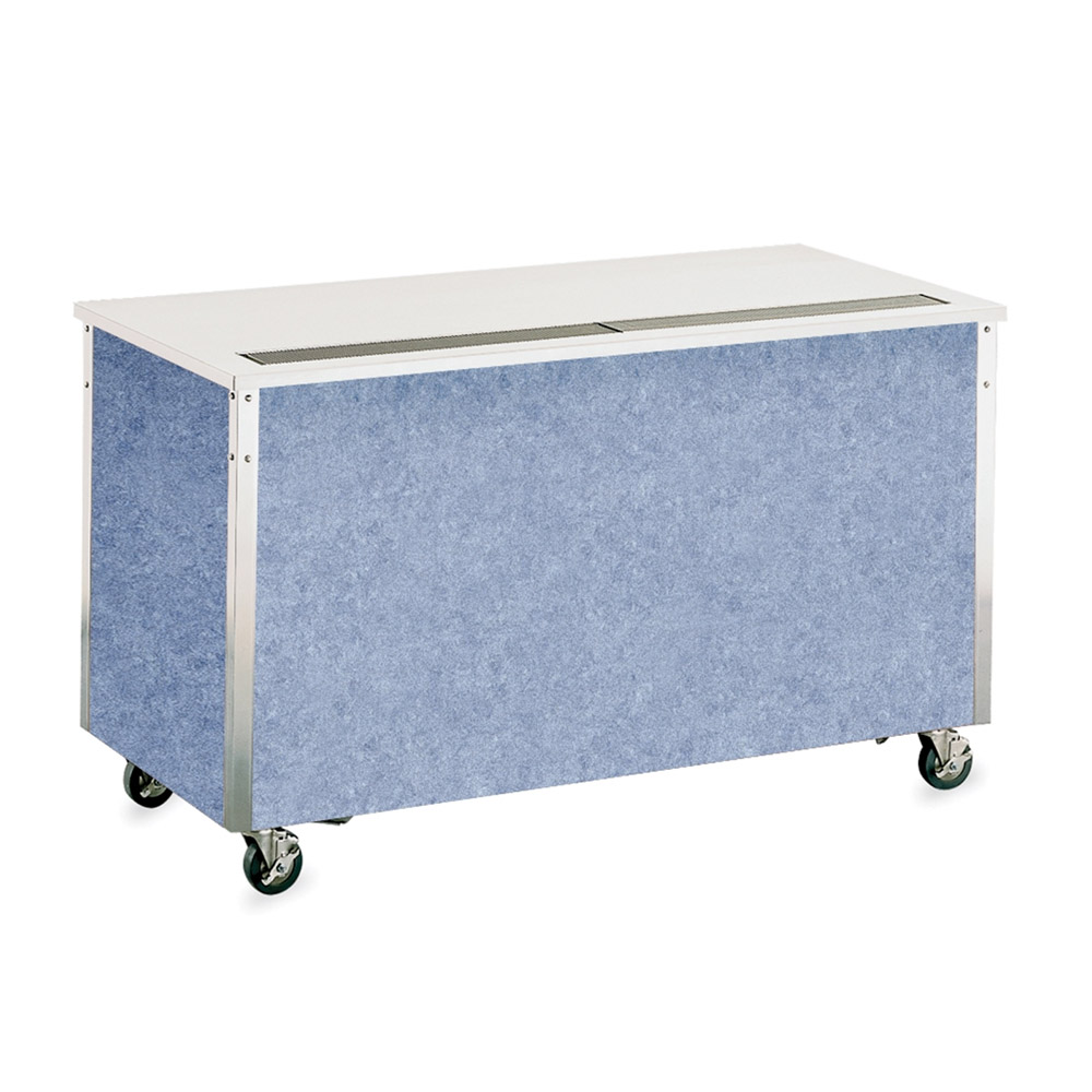 """Vollrath 37025 46"""" Modular Beverage Counter - ADA, 34x46x28, Enclosed Base, Stainless Top"""