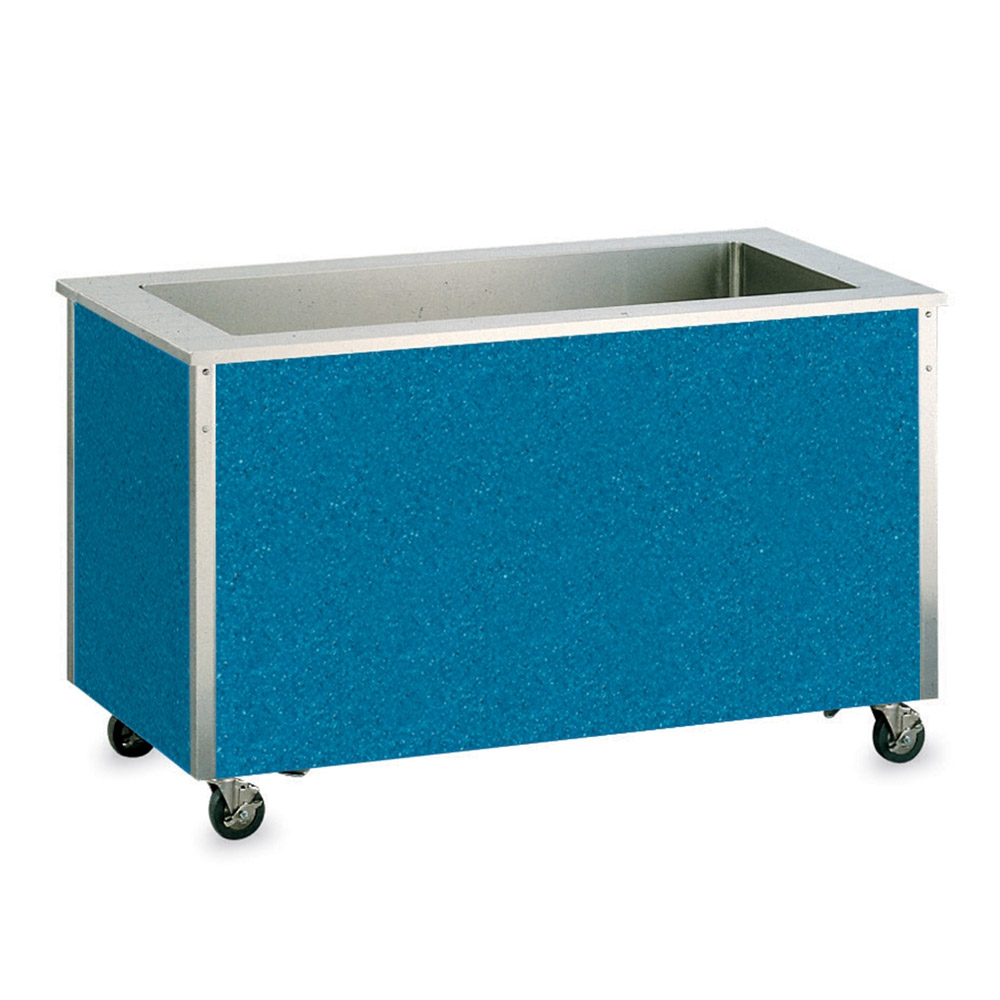 "Vollrath 37070 5-Pan Cold Food Station- 8"" Deep Wells, Non-Refrigerated, 34x74x28"""
