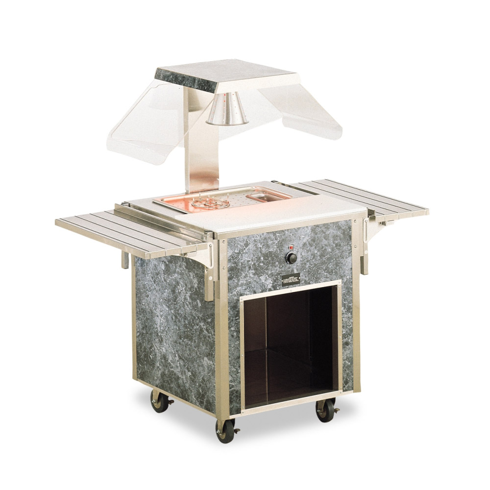 Vollrath 37080 EntrÒe Cart - ADA, Open Base, Stainless Top, 34x28x28