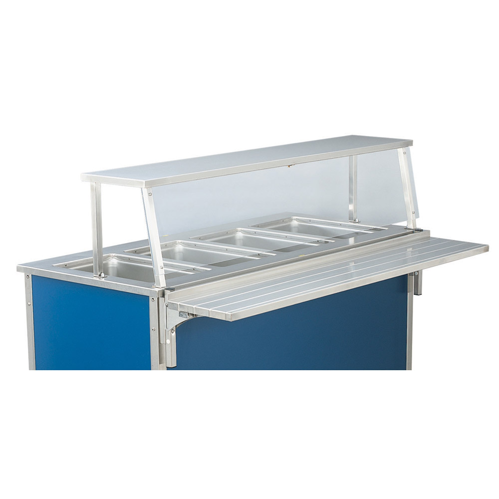 Vollrath 37311 Single Deck Breath Guard For 46 in Signature Units Restaurant Supply