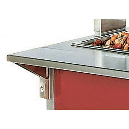 "Vollrath 37514-2 74"" Plate Rest - 7"" Overall Width"