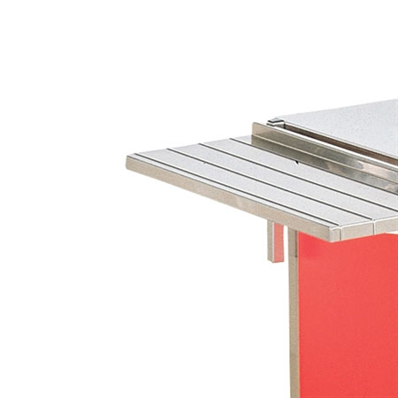 """Vollrath 37524-2-O 74"""" Operator Side Tray Slide - 12"""" Overall Width"""