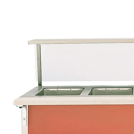 """Vollrath 37563-2-C 74"""" Customer Side Cutting Board - 8"""" Overall Width, Poly"""