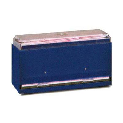 "Vollrath 382106 Single-Side Straw Dispenser - Giant Capacity, 12-1/2x5-1/2x7"" Black"