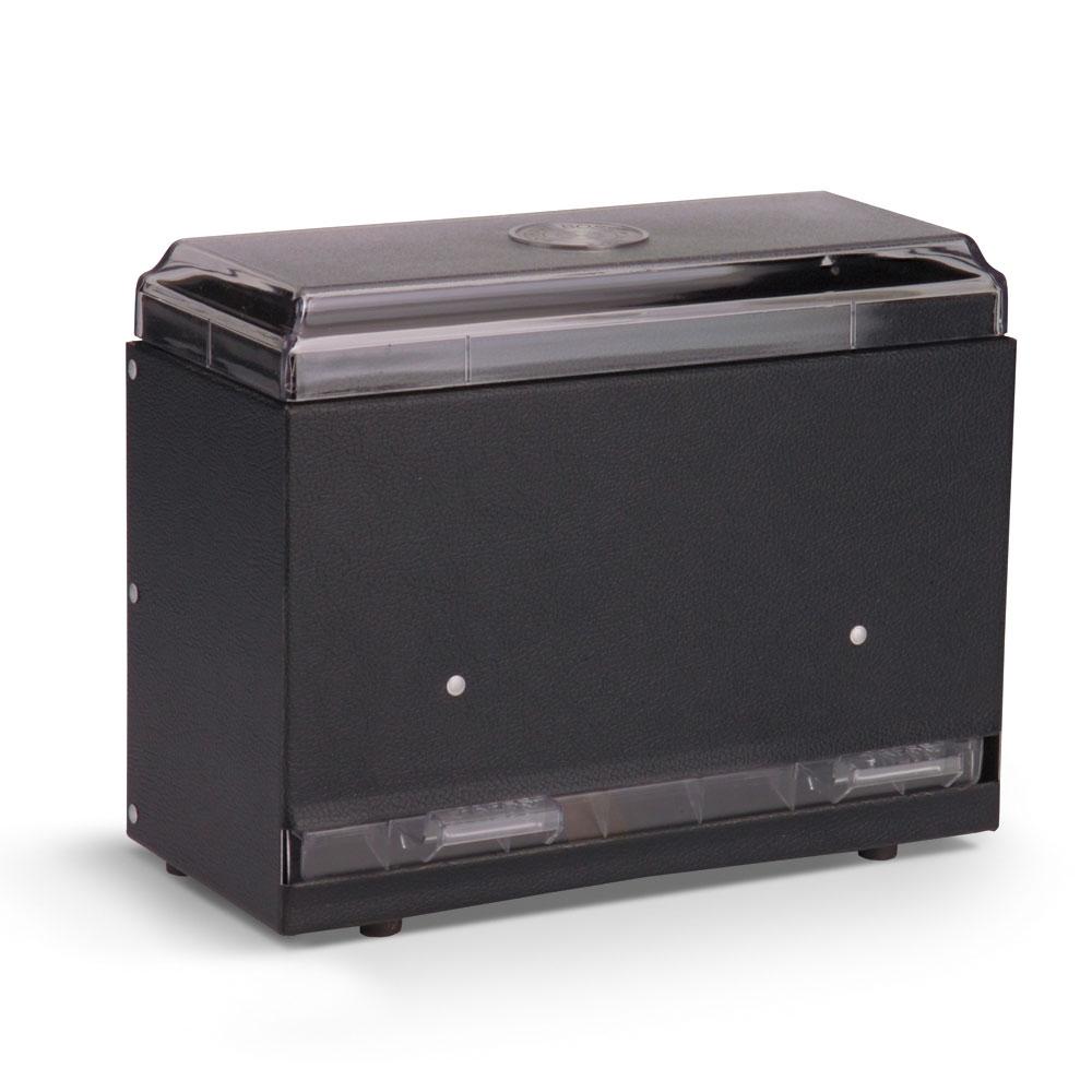 "Vollrath 3825-06 Single-Side Straw Dispenser - 250 Capacity, 9x4x7"" Black"