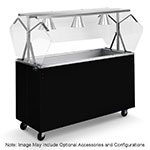 Vollrath 3871346 46-in  Non-Refrigerated Cold Bar, 3-Pan w/ Solid Base, Black