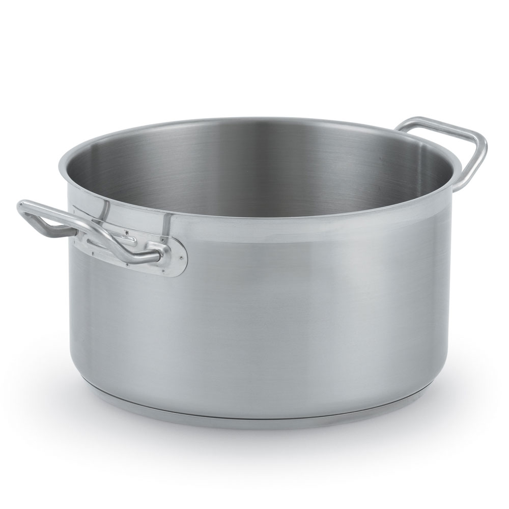"Vollrath 3904 16-qt Stainless Sauce Pot - 12.5"" x 8"""