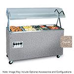 Vollrath 397272 3-Well Hot Cafeteria Unit - Solid Base, Granite 208-240v