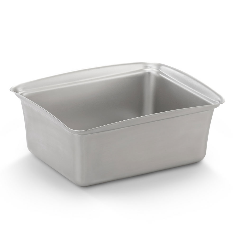 "Vollrath 40005 Steam Table Pan - 11-1/2x9-1/4x4-3/4"" Brushed Stainless"