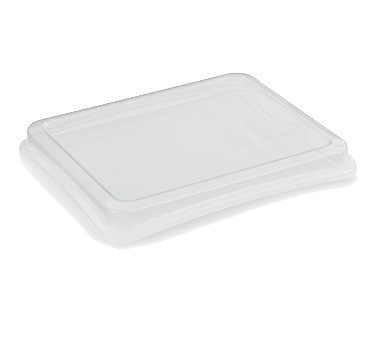 Vollrath 40050 Snap-On Lid for 40005 Steam Table Pan, Plastic, Clear
