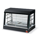 "Vollrath 40734 36"" Self-Service Countertop Heated Display Case w/ Straight Glass - (3) Shelves, 120v"