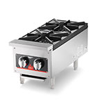 Vollrath 40736 2-Burner Countertop Hot Plate - LP Conversion Kit, Stainless 52,000 BTU NG