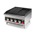 Vollrath 407372 Gas Charbroiler w/ Cast Iron Grates, Manual Controls
