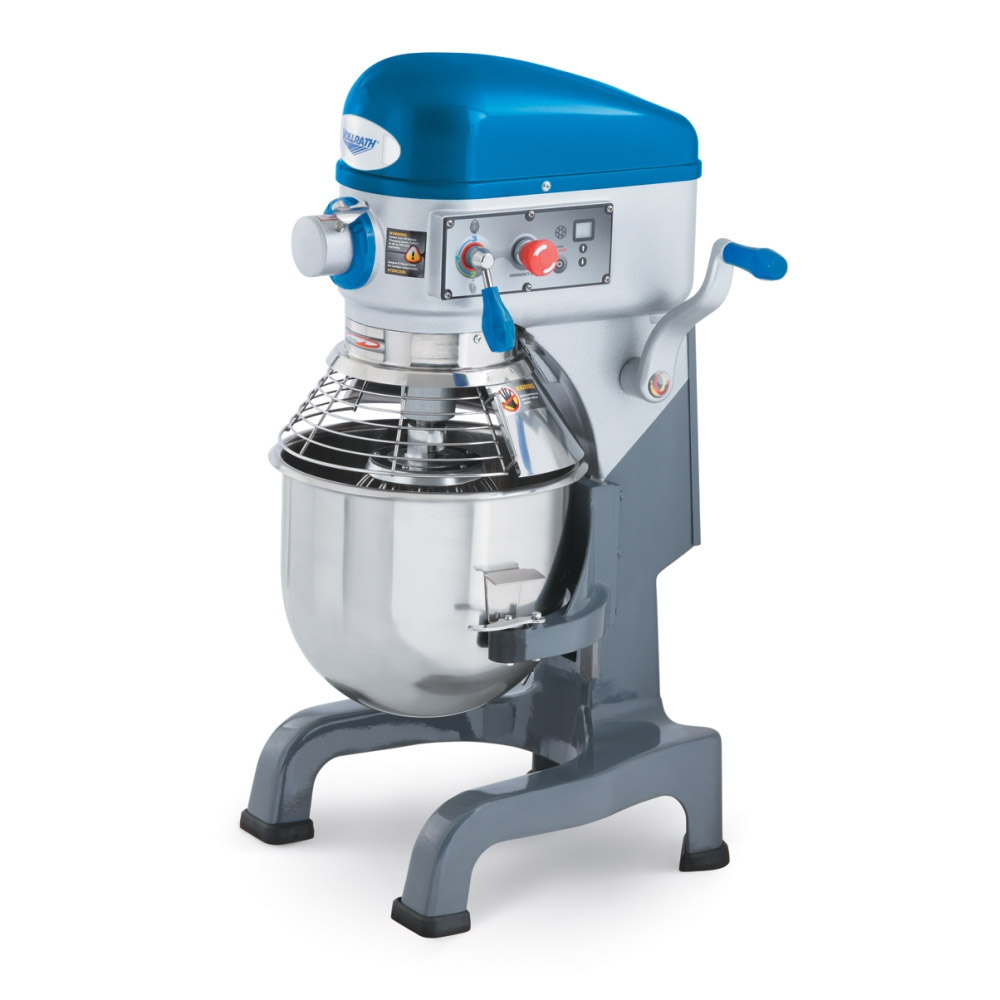 Vollrath 40757 20-qt Bench Mixer with Guard - 3-Speed, #12 Attachment, Timer 1/2HP 110v