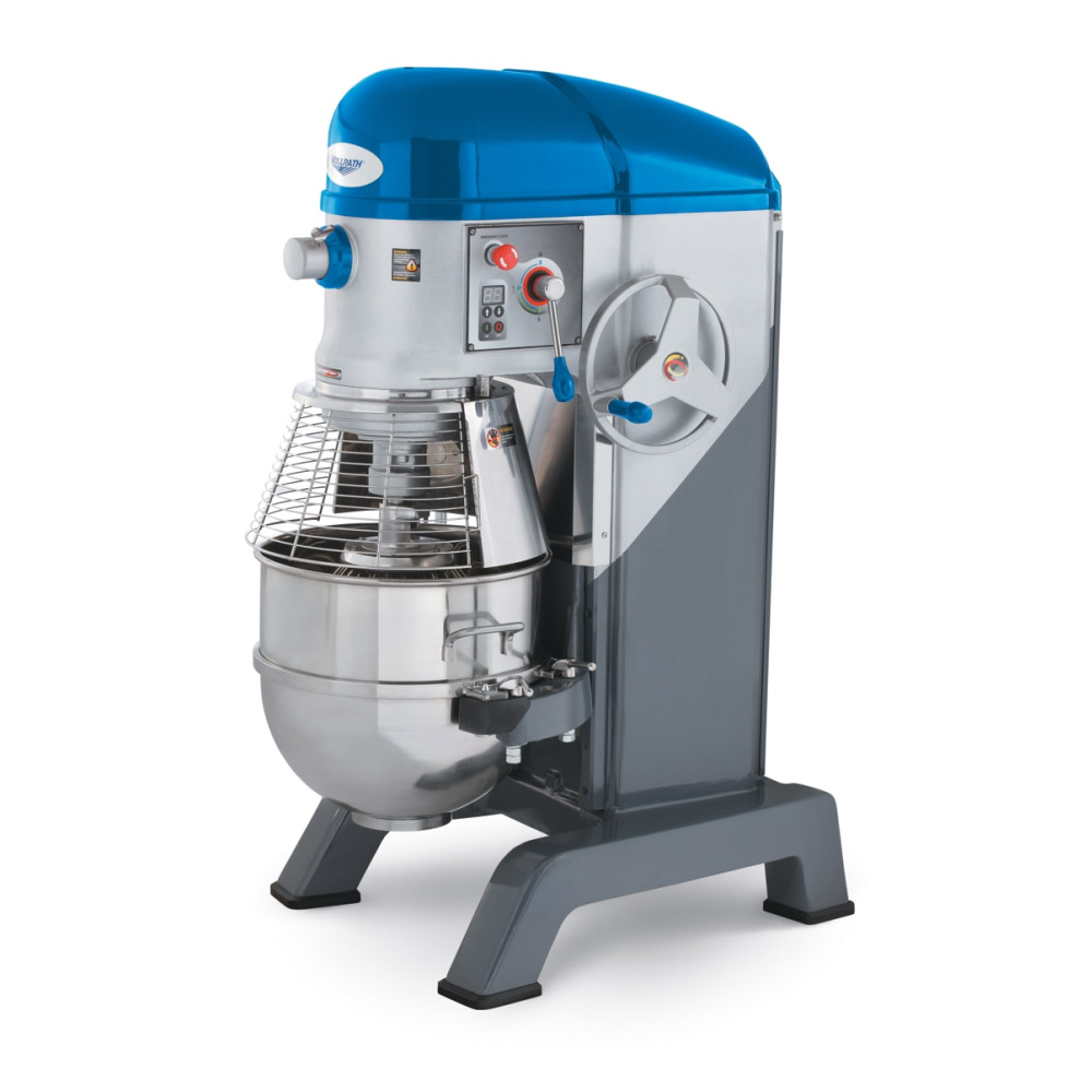Vollrath 40760 60-qt Floor Mixer with Guard - 3 Speed, #12 Attachment, Timer, 2HP 220v