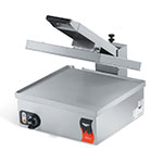Vollrath 40793 Commercial Panini Press w/ Aluminum Smooth Plates, 120v