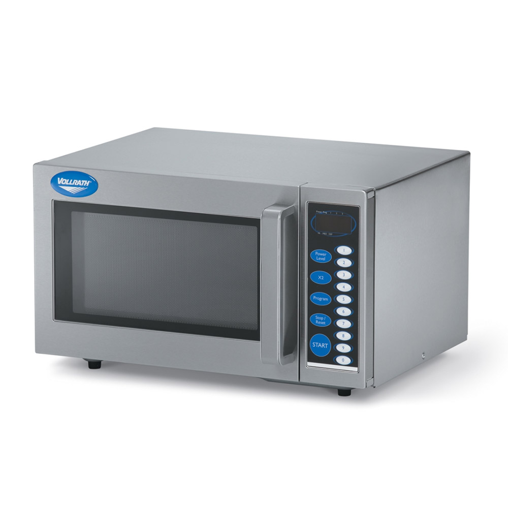 Vollrath 40819 1000w Commercial Microwave with Touch Pad, 120v