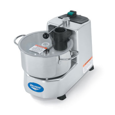 Vollrath 40826 1-Speed Batch/Bowl Food Processor w/ 3-qt Bowl, 110v