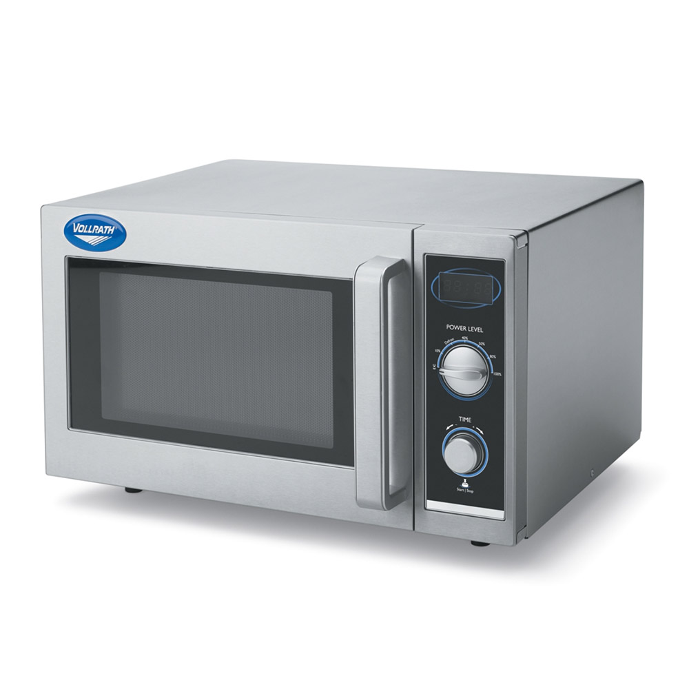 Vollrath 40830 1000w Commercial Microwave with Dial Control, 120v