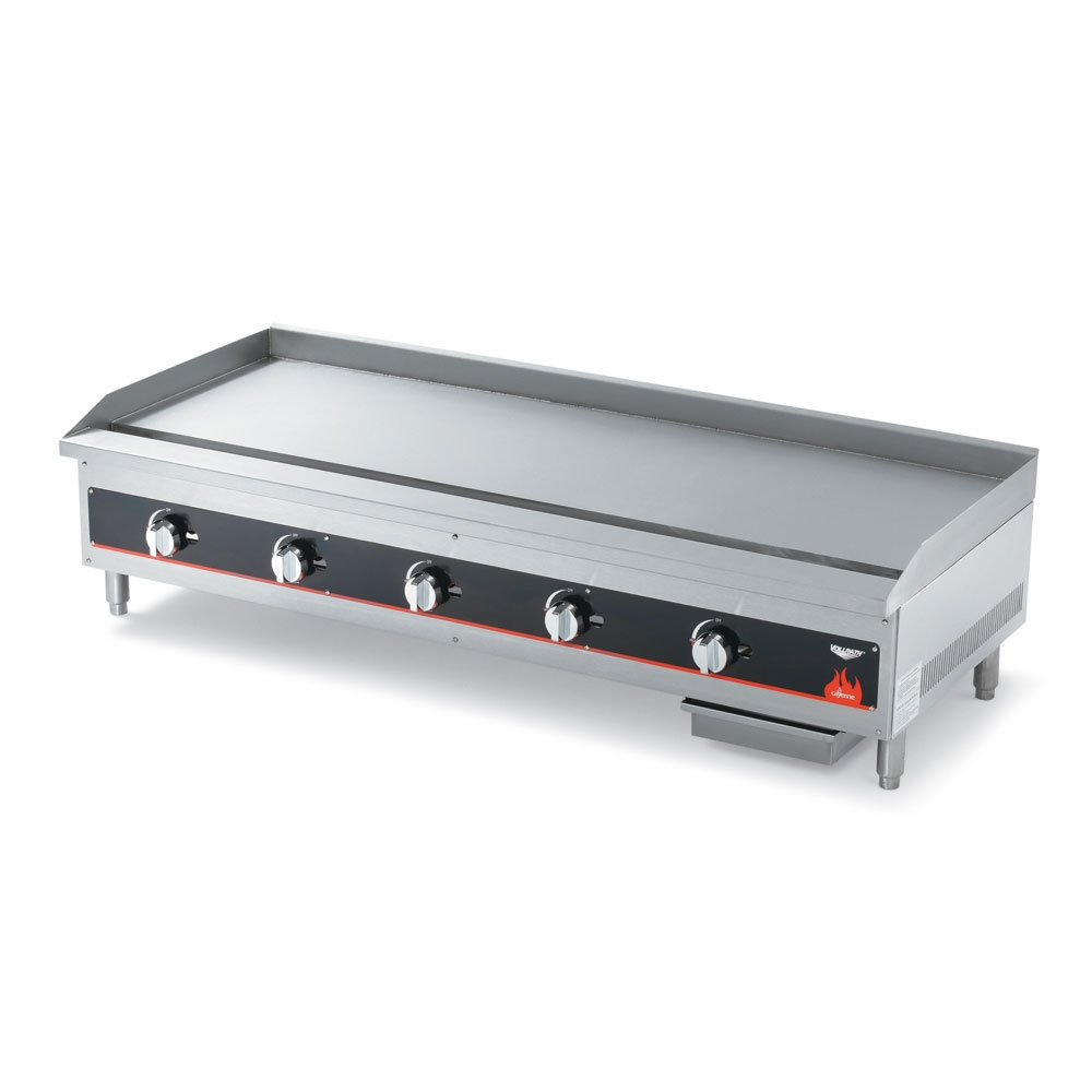 """Vollrath 40840 60"""" Gas Griddle - Manual, 3/4"""" Steel Plate, NG"""