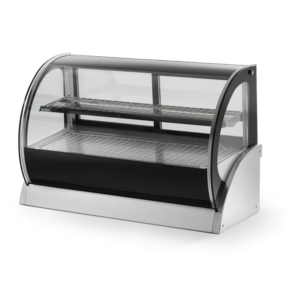 "Vollrath 40856 48"" Heated Display Cabinet - Glass Front, 2 Shelves 120v"